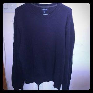 Men's navy blue sweater-XXL